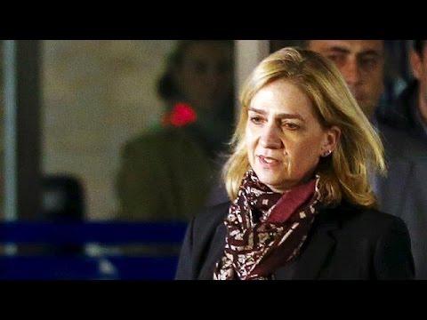 Ισπανία: Στο εδώλιο για πρώτη φορά μέλος της βασιλικής οικογένειας