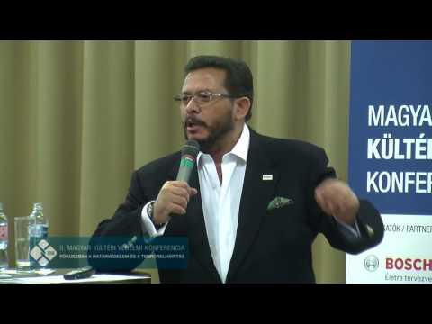 dr. Ihab Youssef (EGY) előadása