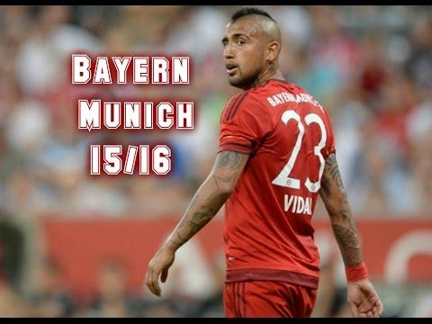 Arturo Vidal/Bayern Munich 2015/16/ skills & goals