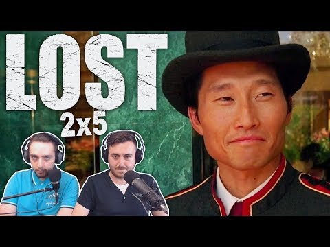"LOST Season 2 Episode 5 Reaction ""...And Found"""