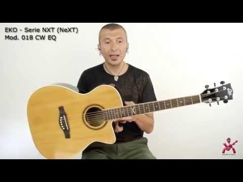 Massimo Varini presenta Eko Guitars NXT (Next) 018 CW Natural chitarra acustica