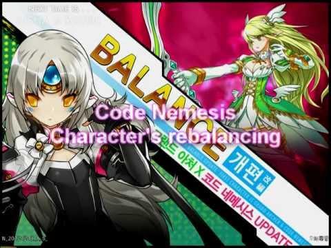 [Elsword] - Code Nemesis Character's rebalance
