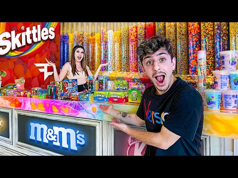 I Turned My House into a REAL CANDY STORE!! **mouth watering**