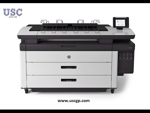 HP Pagewide XL 4000 affordable fast a0 and a1 printer machine