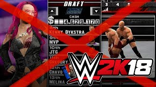 WWE 2K18 - TOP 5 FEATURES THAT UNFORTUNATELY WILL NOT BE IN #WWE2K18...Hit The LIKE! 👍🏼 & Turn ON Notifications🛎► Follow Me!• Twitter - https://twitter.com/MachoT_YT💪 JOIN ME! HELP ME REACH ➡️  50,000 ⬅️ SUBSCRIBERS!SUBSCRIBE! For WWE 2K Games + WWE News & Rumors!In this video I have News coverage of WWE 2K18, the next WWE Game...Join Me to be UPDATED on all News/Rumors/Info, & Announcements heading into the release of the game!► Popular Playlist! WWE 2K17 Hidden Features Full Playlist:•https://goo.gl/uBDPNiWWE 2K17 Tutorials Playlist:•https://goo.gl/HelEBSChannel Description:• All Things WWE & WWE 2K Games. Multiple News & Rumors Round-Up Episodes throughout the week, keeping you guys up to date on all the News & Rumors in Wrestling, leading up to Raw, Smackdown, NXT, & PPVs like Wrestlemania! Also WWE 2K17 Content & Upcoming WWE 2K Games, WWE 2K18 News!►For WWE News/Rumors & WWE 2K17 Content, Updates, & Tutorials • SUBSCRIBE! - https://www.youtube.com/c/DRsMachoTThank You For Watching!- Macho T