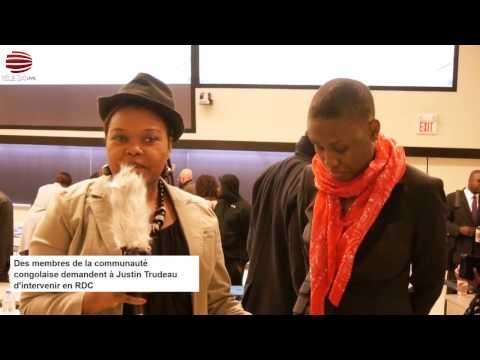 Télé 24 Live: La jeunesse afro-canadienne unie pour la RDC, veut une explication sur le silence de Justin Trudeau sur la crise humanitaire en RDC.
