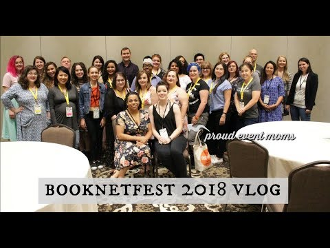 BOOKNET FEST 2018 VLOG (but mostly food and Disney) (видео)