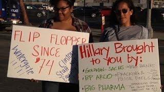 Californians vote amid rare turn in presidential spotlight