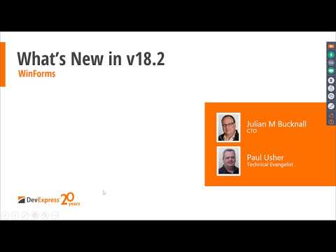 New in v18.2 -  WinForms
