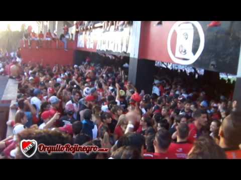 Previa de la hinchada. Newell's 2 - 3 Independiente. OrgulloRojinegro.com.ar - La Hinchada Más Popular - Newell's Old Boys