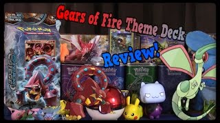 Pokemon Cards! Gears Of Fire Theme Deck and Review! by Master Jigglypuff and Friends