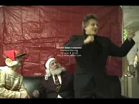 Rod Stewart Impresonation Christmas Skit