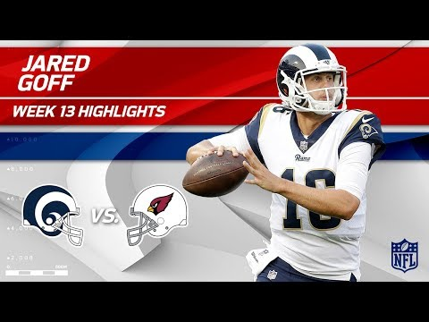 Video: Jared Goff Gets the Win w/ 2 TDs vs. Arizona! | Rams vs. Cardinals | Wk 13 Player Highlights