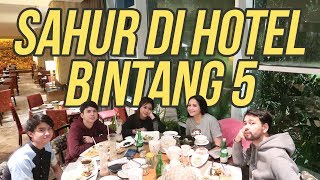 Video Sahur di Hotel Bintang 5 #RANSVLOG MP3, 3GP, MP4, WEBM, AVI, FLV Maret 2019
