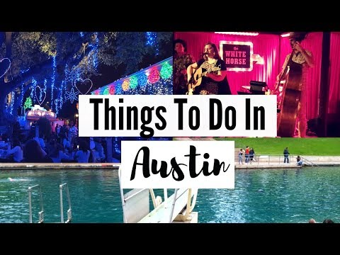 What To Do In Austin Texas - Follow Me As I Explore Austin Texas