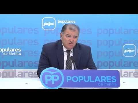 Francisco Robles informa sobre la situación de la asistencia sanitaria en Melilla.