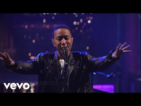 John Legend - Made To Love (Live on Letterman)