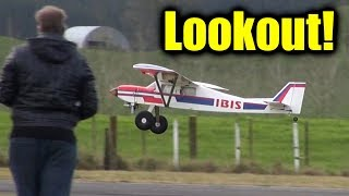 RC planes, drones and the usual offenders make for more mirth and mayhem at the airfield again.  Tim flies the pants off his IBIS gas plane and the rest of us do crazy stuff with drones and quadcopters - including a little aerial ballet.  Far too much fun (again).