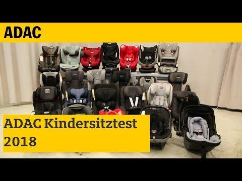 Kindersitz-Test | ADAC 2018