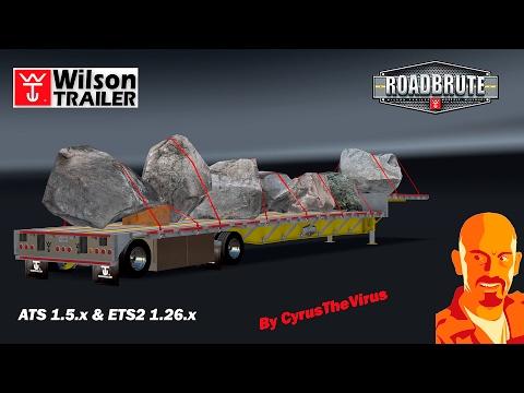 Wilson DropDeck Trailer + 7 cargos 1.5.x