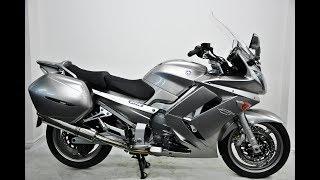 4. Yamaha FJR 1300 A, 2012, 12, Silver.