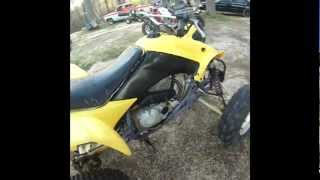 3. Yellow 2004 Honda 400ex Walk Around & RIDE