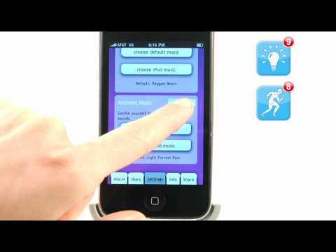 Video of Proactive Sleep Alarm Clock