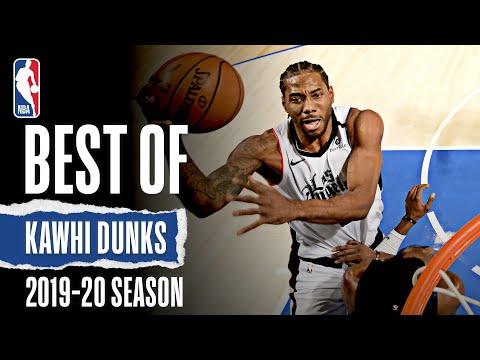 Kawhi Leonard's Best Dunks | 2019-20 NBA Season