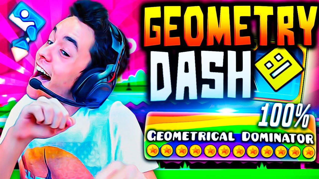 Geometry Dash 2.0! «GEOMETRICAL DOMINATOR» COMPLETADO 100% #30 – TheGrefg