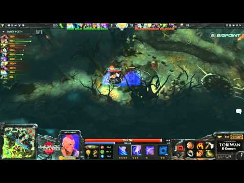 Team VirtusPro vs SSD - Bigpoint Battle DOTA 2 - TobiWan & Demon