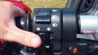 8. How to reverse a CanAm Spyder Roadster SE5