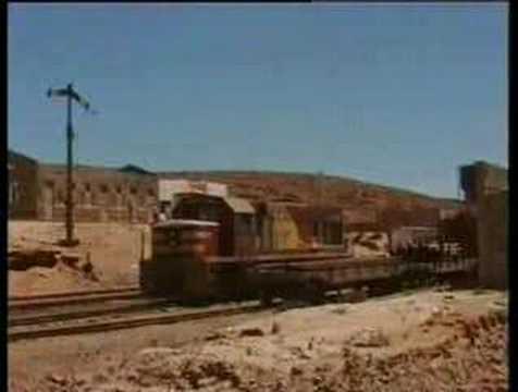 Arica to La Paz by train (Chile / Bolivia)