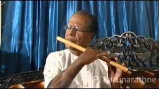 Video Mata Aloke Genadevi Sansaraye - Flute Play by H.P. Karunarathne MP3, 3GP, MP4, WEBM, AVI, FLV Juni 2019