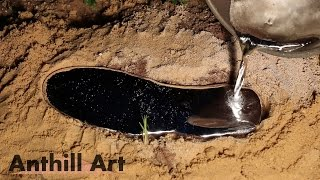 Five Fire Ant Colony Casting Session Part 3: Casts 4 & 5
