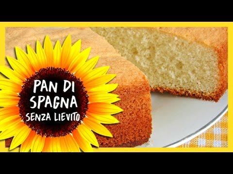pan di spagna senza lievito - ricetta
