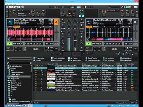 Урок 4 Automatic Reduction Of The Tracks in Traktor Pro 2.6.3