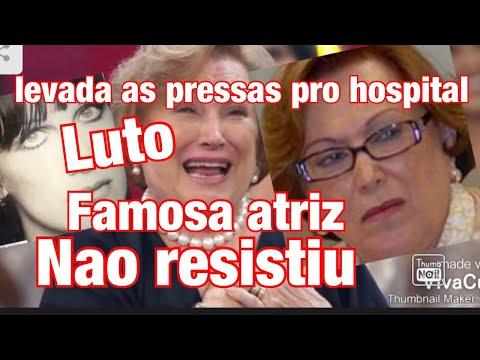 ATRIZ QUERIDA MORREU EM HOSPITAL/NICETTE BRUNO INFELIZMENTE FOI INTERNADA TRISTE