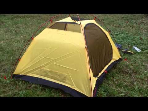 Відеоогляд палатки Tramp Peak