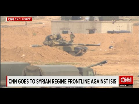 Репортаж CNN из Сирии