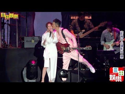 杨丞琳之前說不去演唱會,原來是去當嘉賓啊!超閃!