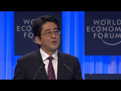 Davos - http://www.weforum.org/ Special Address by Shinzo Abe, Prime Minister of Japan Chaired by Klaus Schwab, Founder and Executive Chairman, World Economic Forum.