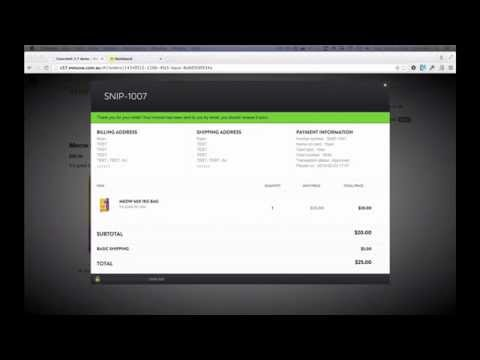 eCommerce on concrete5 5.7 with Snipcart - Mesuva Web Development