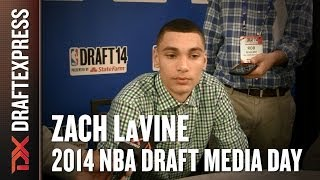 Zach LaVine 2014 NBA Draft Media Day Interview