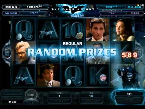 Fight for the Big Payout in The Dark Knight Slot