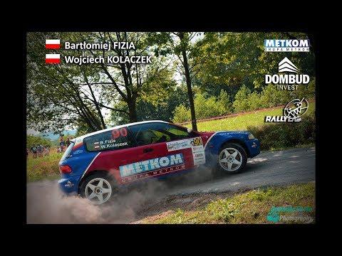 Bartłomiej Fizia / Wojciech Kolaczek | Honda Civic | Rajd Rzeszowski 2017