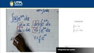 UTPL INTEGRACIÓN POR PARTES [(ECONOMÍA)(CÁLCULO II)]