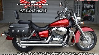 7. Used 2011 Honda Shadow Aero 750 For Sale / Walk-Around - Cobra Exhaust / Saddlebags