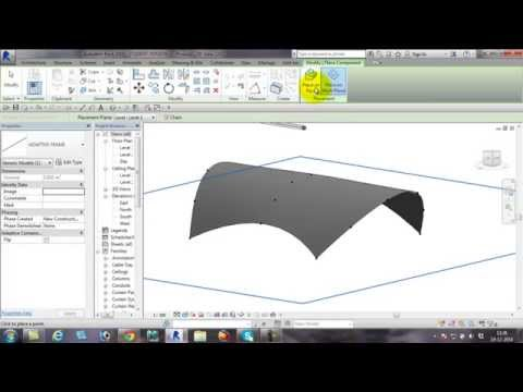 Tensile Structure on Revit