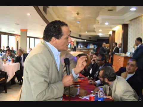 بالصور..مؤتمر عاشور مع محامي الإذاعة والتليفزيون