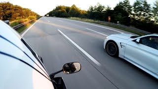 5. BMW M4 Coupe vs Yamaha R6 - TOP SPEED Part 1 [1080p]